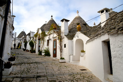 Alberobello, Trulli houses in Alberobello