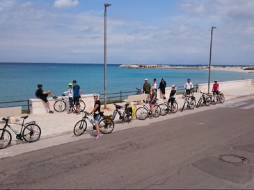 Guided cycling tours in Apulia, Salento