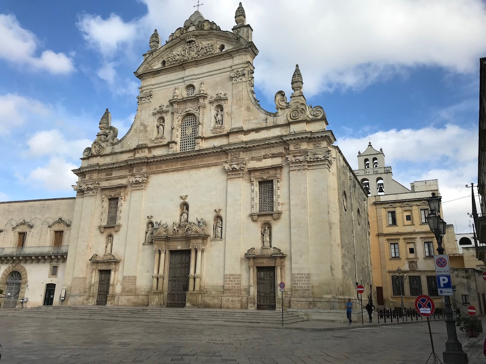 Galatina, Baroque architecture, Salento - cycling holidays