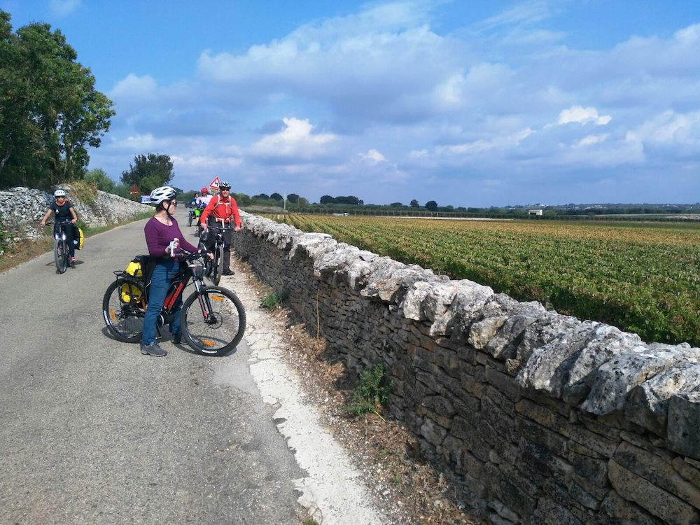 Itria Valley, countryside, cyclin in Apulia