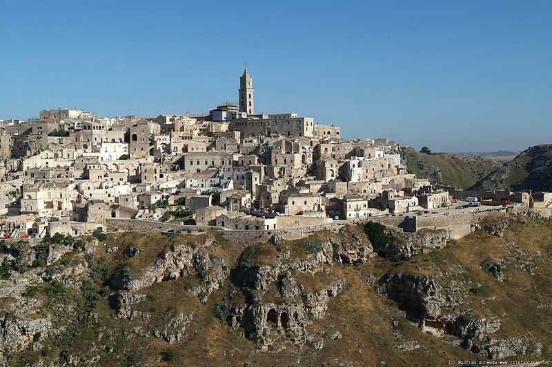 Matera, the city of sassi - Unesco World Heritage Site