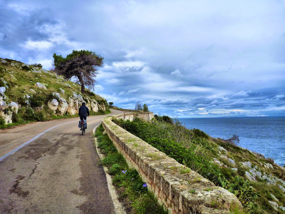 Cycling from Santa Maria di Leuca to Otranto
