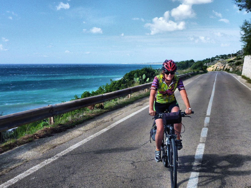 Cycling routes in Puglia