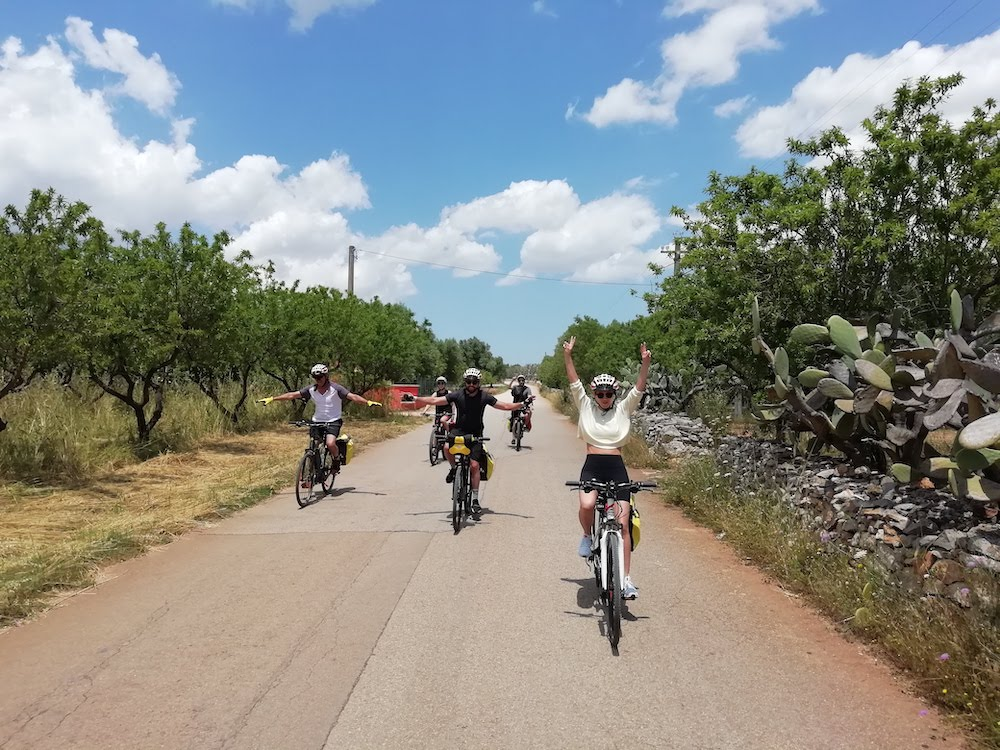 Cycling in Salento