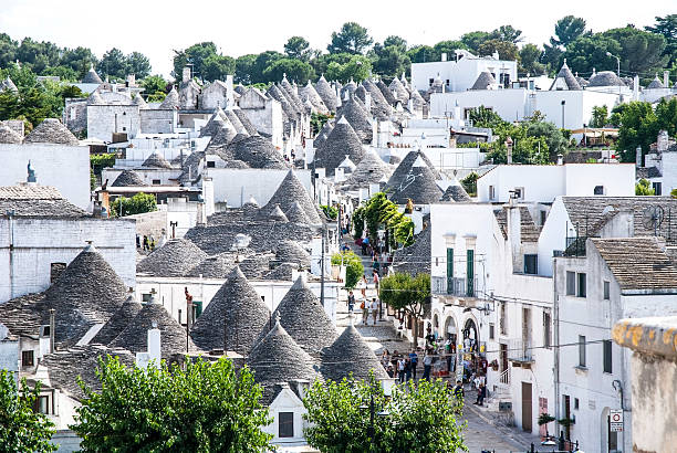 Walking holidays in Puglia, Alberobello